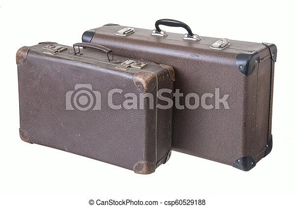 型, 別, 古い, 2, スーツケース - csp60529188