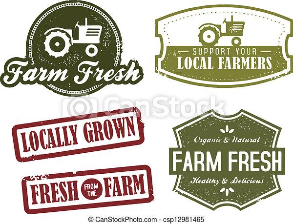 型, 農業, 新しい 市場 - csp12981465