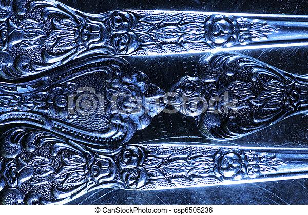 型, 金属, 手ざわり, 背景 - csp6505236