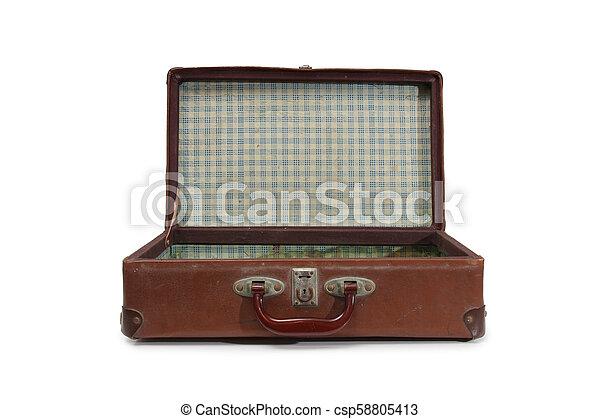 型, 2, スーツケース - csp58805413
