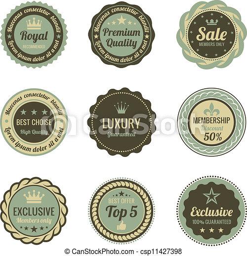 型, labels. - csp11427398