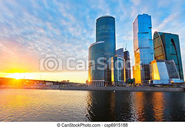 城市, 莫斯科 - csp6915188