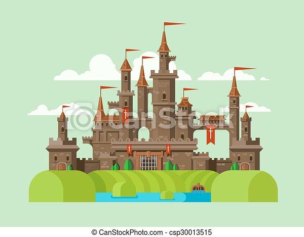 城, 中世 , csp30013515