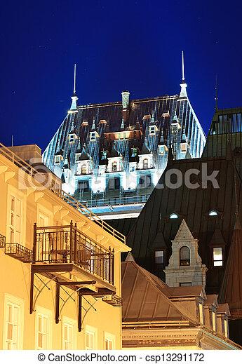 城 frontenac - csp13291172