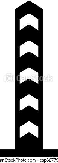 境界線, ボーダー, 柱 - csp62779010