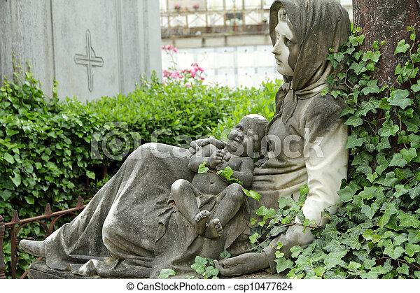 墓, 歴史的 - csp10477624