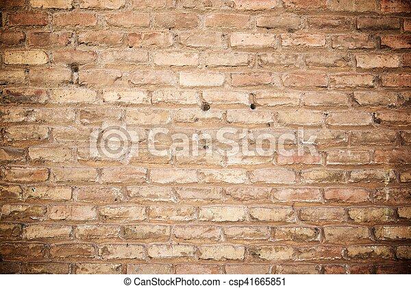 壁, れんが - csp41665851