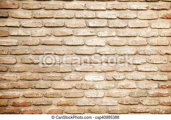 壁, れんが - csp40985388