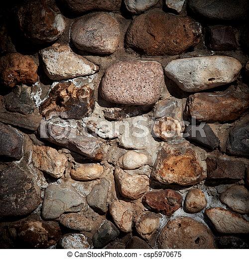 壁, 石, 古い, 背景, 手ざわり - csp5970675