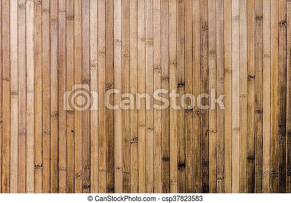 壁, 竹, 背景, 手ざわり - csp37823583