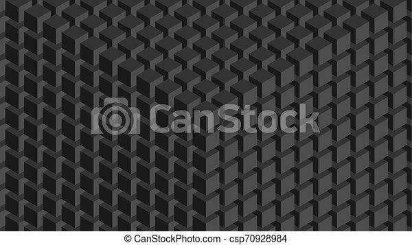 壁, cubes. - csp70928984