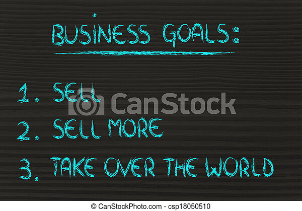 売る, 面白い, 売る, ビジネス, 上に, success:, ステップ, 取得, もっと, 世界 - csp18050510