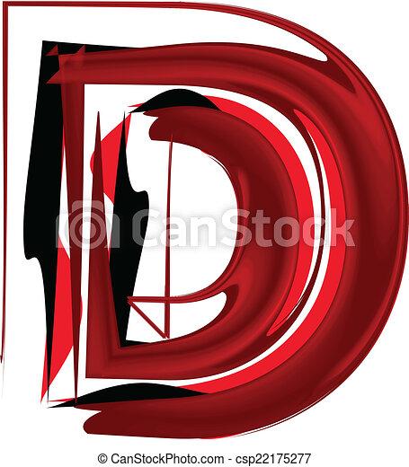 壷, 芸術的, 手紙, d - csp22175277