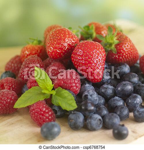 夏のフルーツ - csp6768754