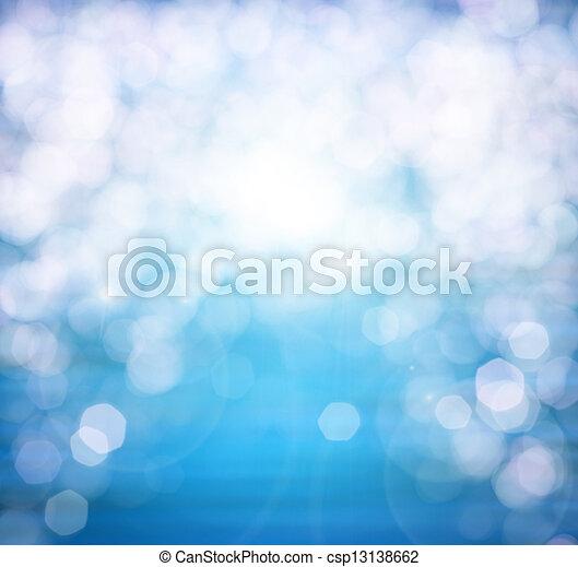 夏天, 性质, 春天, 摘要, 波浪, 水, sunrise., 表面, 大海, 运动, 背景。, bokeh, 海, 污点, 小, 或者, 电灯 - csp13138662