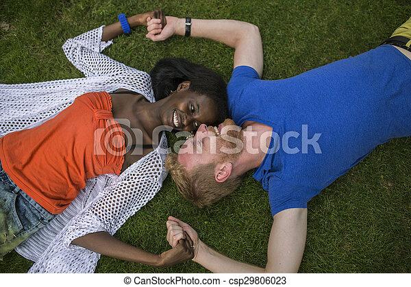 多人種の偶力, 公園 - csp29806023