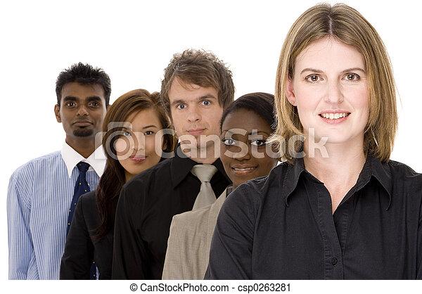 多様, グループ, ビジネス - csp0263281
