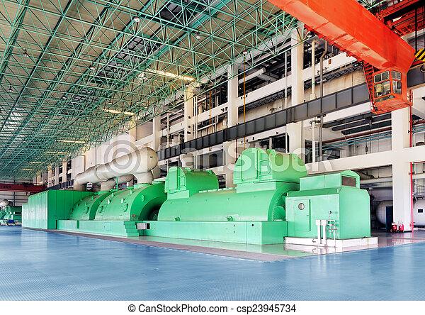 大きい機械, 熱, 力 - csp23945734