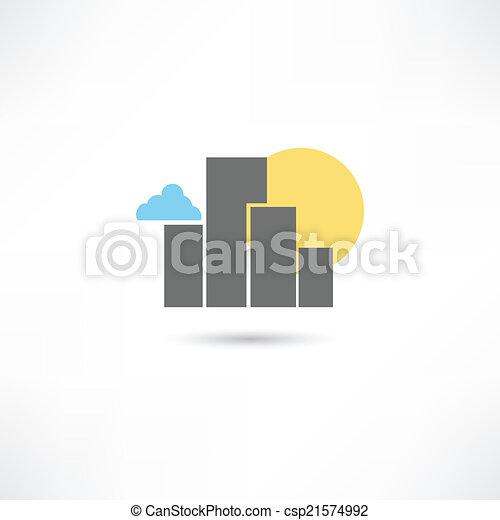 大きい都市 - csp21574992