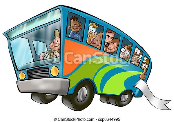 大きい, バス - csp0644995