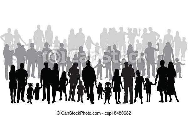 大きい, 家族, プロフィール - csp18480682