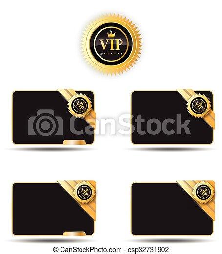 大人物, 黑色, 卡片, 標簽 - csp32731902