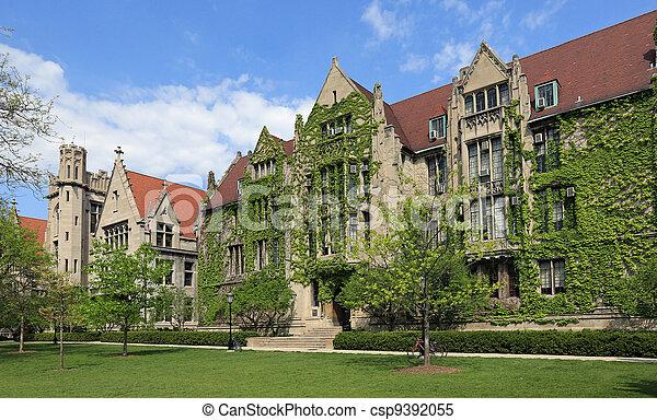 大学, 魅力的, キャンパス - csp9392055