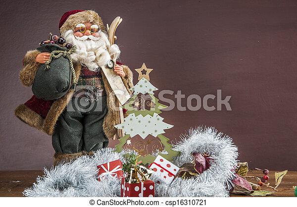 大気, クリスマスの 装飾 - csp16310721