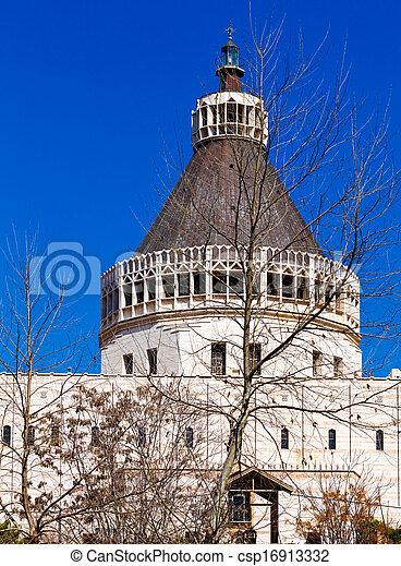 大聖堂, お告げの祝日, nazareth - csp16913332