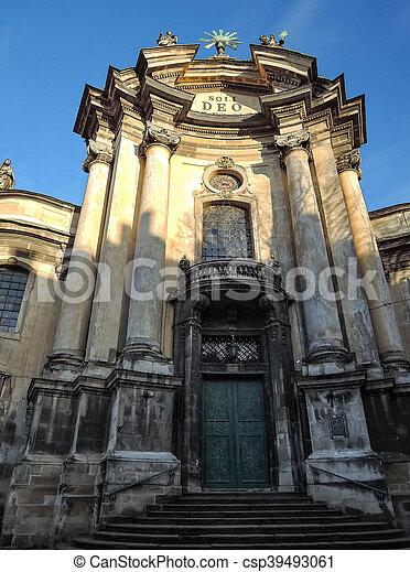 大聖堂, カトリック教, 教会 - csp39493061