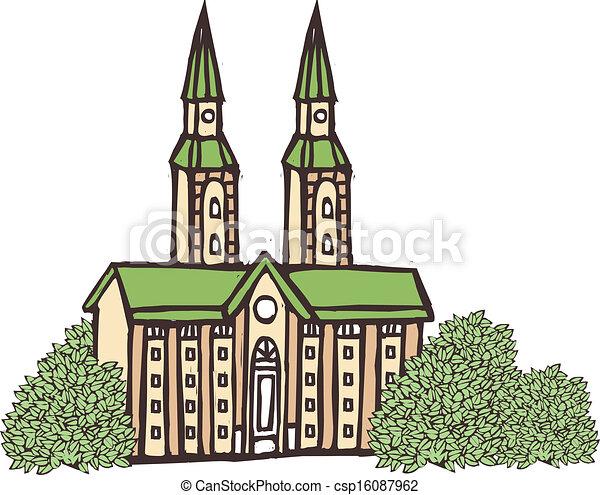 大聖堂, 光景 - csp16087962