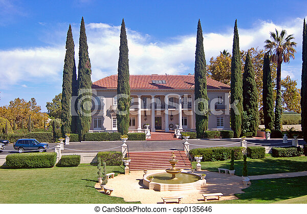 大邸宅, 歴史的 - csp0135646