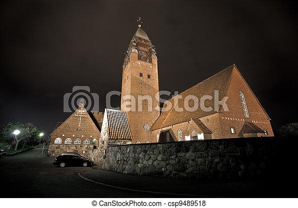 大, 瑞典, 教堂, gothenburg - csp9489518