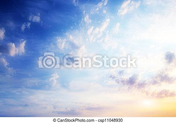 天上, 風景 - csp11048930