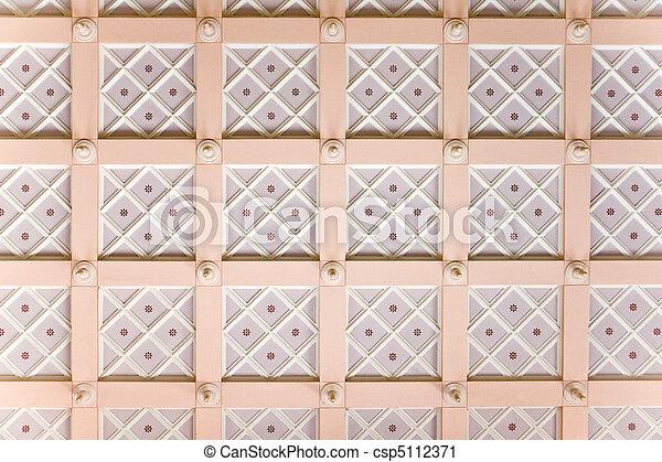 天井, 化粧しっくい - csp5112371