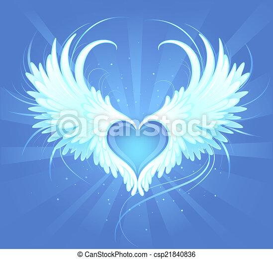 天使, 心 - csp21840836