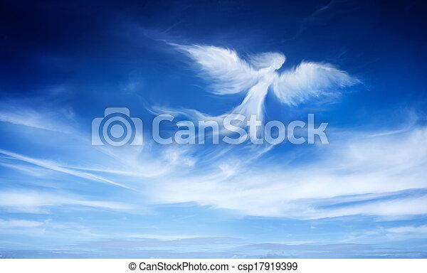 天使, 空 - csp17919399