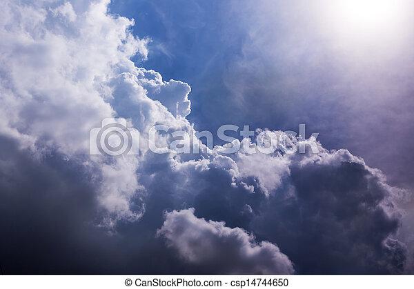 天国, 空 - csp14744650