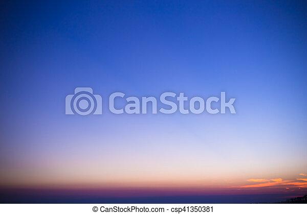 天空 - csp41350381