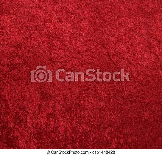 天鹅绒, 红的背景 - csp1448428