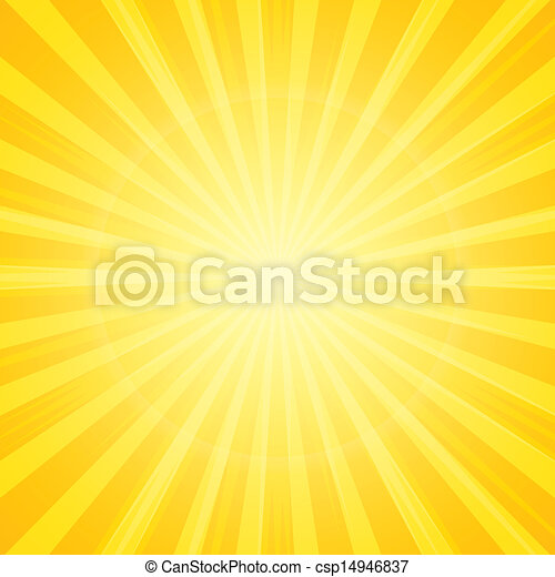 太陽は放射する, 背景 - csp14946837