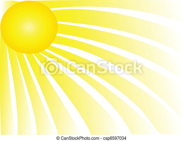 太陽は放射する - csp6597034