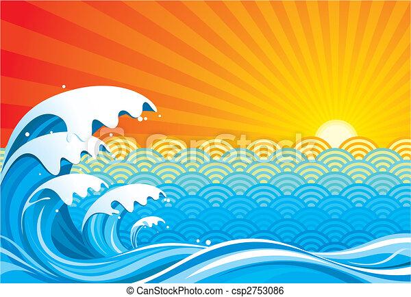 太陽, サーフィンをしなさい - csp2753086