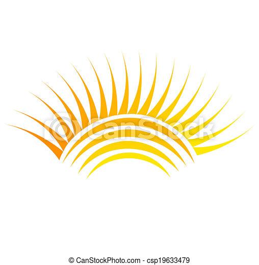 太陽, シンボル - csp19633479
