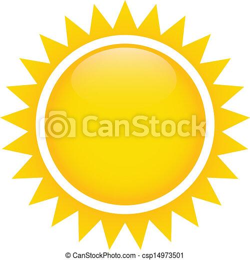 太陽, 抽象的 - csp14973501