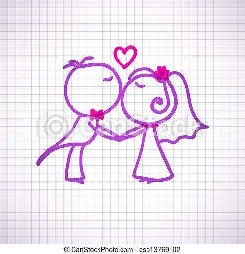 夫婦, 婚禮 - csp13769102
