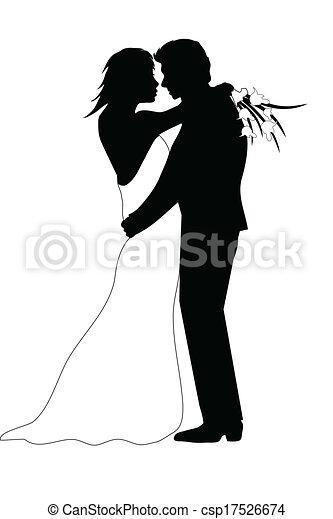 夫婦, 婚禮 - csp17526674