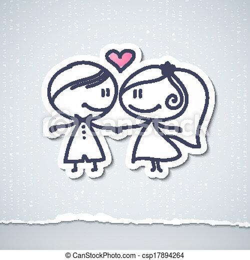 夫婦, 婚禮 - csp17894264