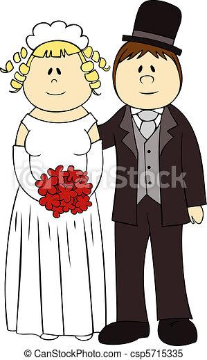 夫婦。, 婚禮 - csp5715335