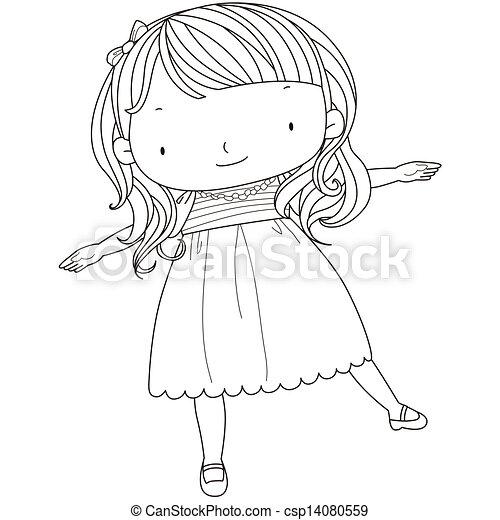 かわいい 女の子 イラスト